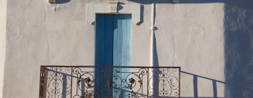 Kurs i Frankrike balkong